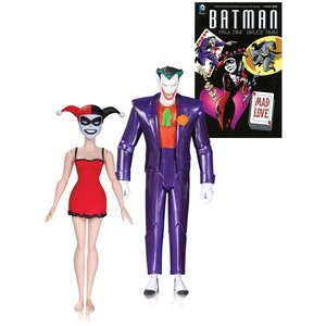 Batman The Animated Series Action Figure 2-Pack The Joker and Harley Quinn Mad Love 2nd Ed.