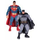 The Dark Knight Returns Action Figure 2-Pack Superman & Batman 30th Anniversary