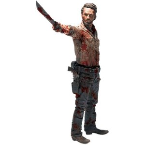 The Walking Dead Deluxe Action Figure Rick Grimes Vigilante Edition 25cm