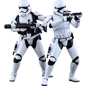 Star Wars Episode VII MMS Action Figure 2-Pack 1/6 First Order Stormtroopers