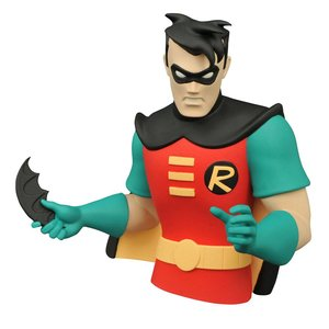 Batman The Animated Series Bust Bank Robin