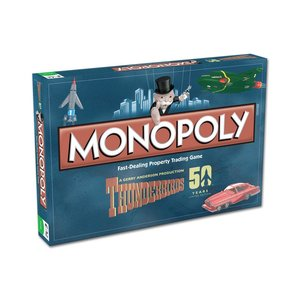 Thunderbirds Board Game Monopoly * English Version *