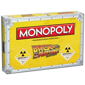 Back to the Future Board Game Monopoly * English Version *