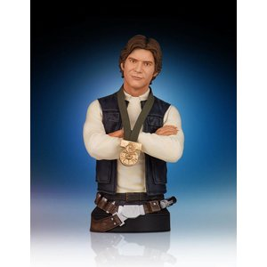Star Wars Bust 1/6 Han Solo Hero of Yavin