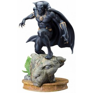 Marvel Comics Kunstskulptur sechsten Black Panther 31 cm