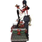 Elvira Herrscherin der Dunkelheit Elvira Scary Weihnachten Maquette 46 cm