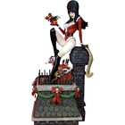 Elvira Mistress of the Dark Elvira Scary Christmas Maquette 46 cm