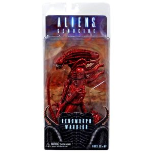 Aliens Series 5 Action Figures - Genocide Alien Red