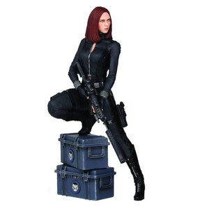 Captain America The Winter Soldier Statue Black Widow 22 cm