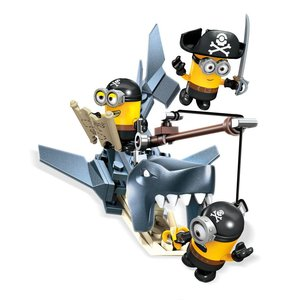 Minions Mega Bloks Construction Set Shark Bait