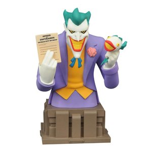 Batman The Animated Series Bust Laughing Fish Joker EE Exclusive