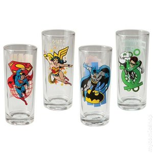 DC Comics Collector Glas Set