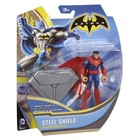 Batman Steel Shield Superman Action Figure