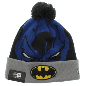 Batman The Woven Biggie Knit New Era Beanie