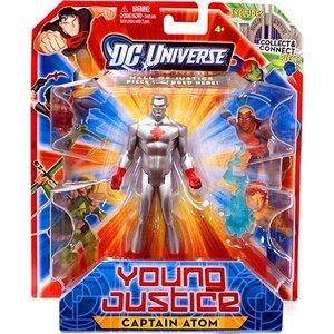 DC Universe Young Justice Captain Atom Figure