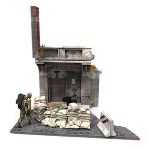 Walking Dead Construction Set Jersey Barrier And Sand Bags