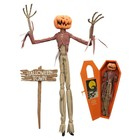 Nightmare before Christmas Pumpkin King Jack Coffin Coffin Doll Doll 41 cm
