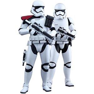Star Wars Episode VII Movie Masterpiece Action Figure 1/6 First Order Stormtrooper & FOS Officer
