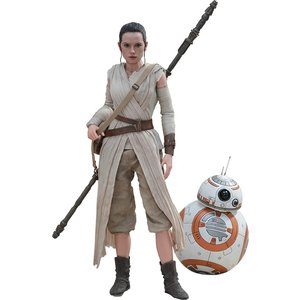 Star Wars Episode VII Movie Masterpiece Action Figure 2-Pack 1/6 Rey & BB-8