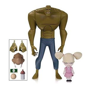 The New Batman Adventures Action Figure Killer Croc with Baby Doll
