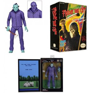 Friday the 13th Action Figure Jason Theme Music Edition (Classic Video Game Appearance)