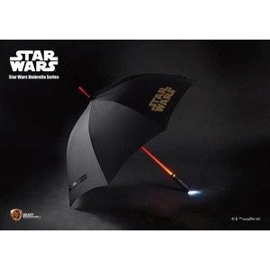Star Wars Light Up Lichtschwert Regenschirm Funktion 110 cm