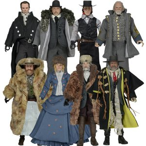 The Hateful Eight Action Figures Assortment 20 cm (8)