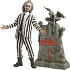 Beetlejuice Action Figure 1/6 Beetlejuice with Tombstone