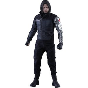 Captain America Civil War Movie Masterpiece Action Figure 1/6 Winter Soldier 31 cm