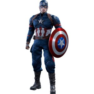 Captain America Bürgerkrieg Film Masterpiece Actionfigur 1/6 Captain America 31 cm