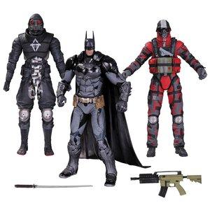 Batman Arkham Knight Actionfiguren 3er-Pack Batman & Thugs