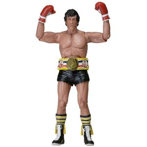 Rocky (Black Trunks Version with belt) 40th Anniversary Action Figure