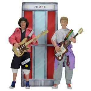 Bill & Ted's Excellent Adventure Action Figures 2-Pack Bill & Ted 20cm