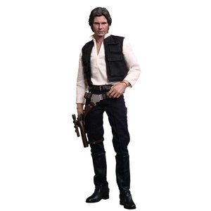 Star Wars Movie Masterpiece Action Figure 1/6 Han Solo 30 cm