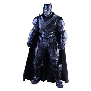 Batman v Superman Dawn of Justice MMS Action Figure 1/6 Armored Batman Black Chrome Ver. 33 cm