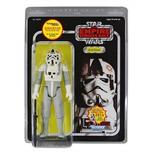 Star Wars Jumbo Vintage Kenner Action Figure AT-AT Driver SDCC 2014 Exclusive