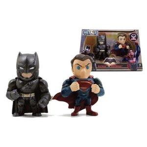 Batman v Superman Metals Die Cast Figuren Batman & Superman 10 cm
