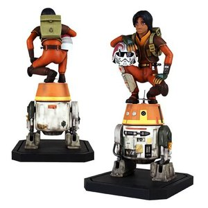 Star Wars Rebels Maquette Ezra & Chopper