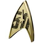 Star Trek Replik 1/1 Sternenflottenabzeichen magnetisch 50th Anniversary