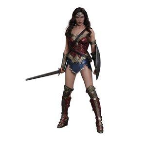 Batman v Superman Dawn of Justice Filmmeisterwerk Actionfigur 1/6 Wonder Woman