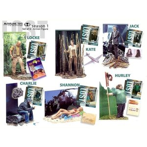 Lost Series 1 - Set of 6 Action Figures
