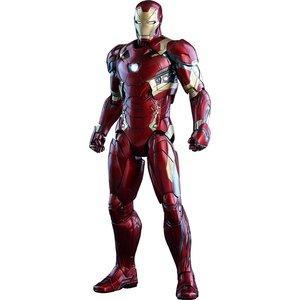 Captain America Civil War Movie Masterpiece Diecast Action Figure 1/6 Iron Man Mark XLVI 32 cm