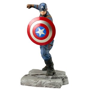 Captain America Civil War ARTFX+ Statue 1/10 Captain America 18 cm