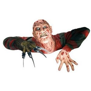 Nightmare On Elm Street Freddy Krueger Statue Grave Walker 37 cm