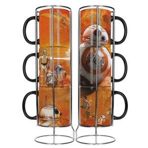 Star Wars Episode VII Stackable Mugs Set BB-8 Droids