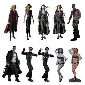 Sin City Series 2 Action Figure Set (10)
