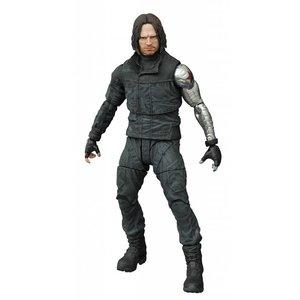 Captain America Civil War Marvel Select Action Figure Winter Soldier 18 cm