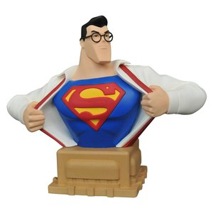Superman The Animated Series Bust Clark Kent SDCC 2016 Exclusive 15 cm