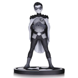 Batman Black & White Statue Robin by Frank Quitely 16 cm