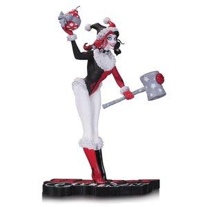 DC Comics Red, White & Schwarz Statue Urlaub Harley Quinn 18 cm
